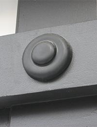 釘かくし(唄金具)φ145mm 2ケ 弊社取り付け [東京]