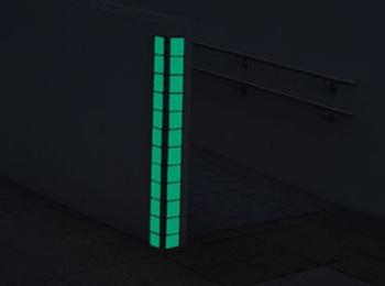 県議事堂スロープ(福井県) 90×90mm