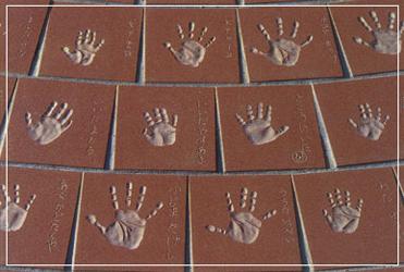 手形タイル   200×200㎜ 彫り込み加工仕上げ