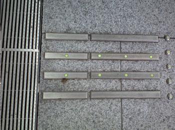 JR駅前地下駐車場 出入口階段(福井県) JTK-2L(YG)、JHKC-1L(YG)、JFKA-3L