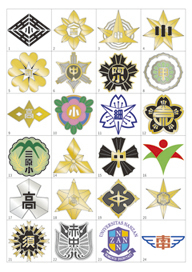 校章・シンボルマーク製作イメージ図1
