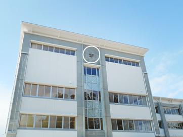 高校校章(岩手県) H1,000mm